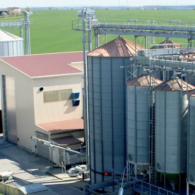 Getreidelager der Methauer AGRO-AG