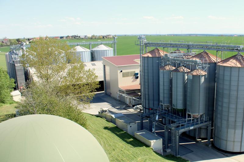 Getreidelager der Firma Methauer Argo-AG