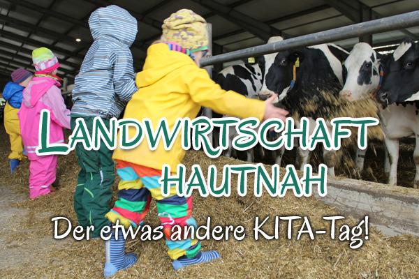 Projekt Kita-Tag bei der  Methauer AGRO-AG